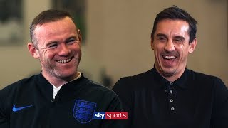 Download Who is the best England player Wayne Rooney ever played with? | Exclusive Interview Video