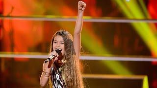 Download Alexa sings Girl On Fire | The Voice Kids Australia 2014 Video