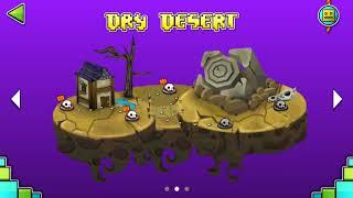 Download DRY DESERT 100% (1-5 Levels) (Test Fan-Made) | Geometry Dash World | New Island Video