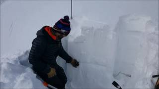 Download Snowpack Observations on Southerly Aspects in the Vail/Summit Zone Video