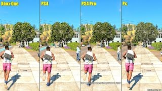 Download Watch Dogs 2 Pc Vs PS4 Pro Vs PS4 Vs Xbox One 1080p Graphics Comparison Video