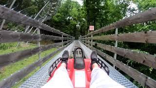Download Gatlinburg Mountain Coaster (4k POV) Video
