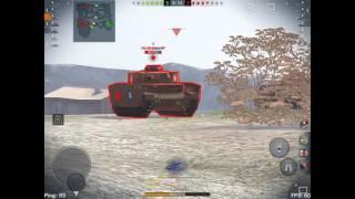 World Of Tanks Blitz : mod skin de malade!!! + bataille (E75) Free