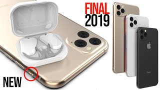 Download iPhone 11 FINAL Design Leaks & AirPods 3 in 2019! Video