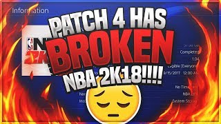 Download NBA 2K18 MyCAREER - THIS GAME IS BROKEN! Reacting To Tweets About Patch 4 Ep. 20 (PS4 Pro Gameplay) Video