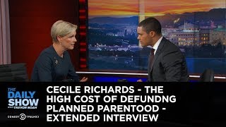 Download Cecile Richards - The High Cost of Defunding Planned Parenthood: The Daily Show Video
