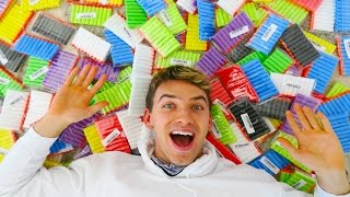Download 1500 NERF DARTS in GIANT BALLOON SURPRISE! Video