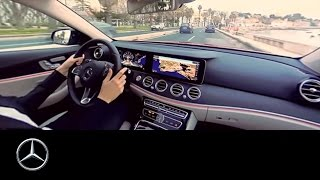 Download 360° video drive in the Mercedes-Benz E-Class | Lisbon Video