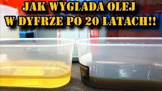 Download Jak wygląda olej w dyfrze po 20 latach ?? Wymiana oleju w dyferencjale BMW Video