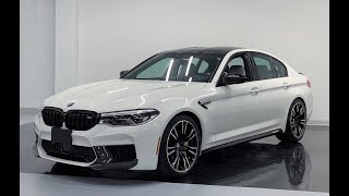 Download 2019 BMW M5 COMPETITION M PERFORMANCE - Revs + Walkaround in 4k Video