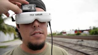 Download Phantom 3 with HD FatShark Goggles Test and Review Video