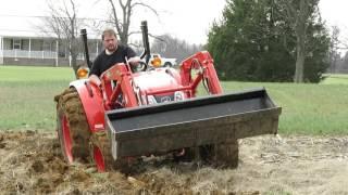 Download Plowing with the Kioti DK4510 Video