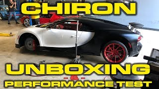 Download Bugatti Chiron Unboxing, Delivery, Revs, Wheel Change and Performance Testing! Video