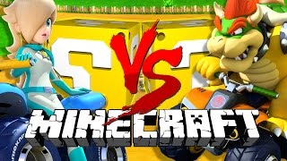 Download Minecraft: MARIO KART 8 LUCKY BLOCK CHALLENGE | BOATS ON ICE?! Video