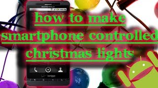 Download Tinkernut - How To Make Smartphone Controlled Christmas Lights Video