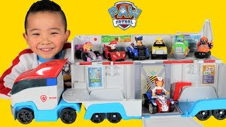 Download Paw Patrol Patroller Toys Unboxing With Marshall Chase Skye Rocky Rubble Zuma Vehicles Ckn Toys Video