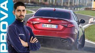 Download Alfa Romeo Giulia Quadrifoglio | La prova in pista [ENGLISH sub] Video