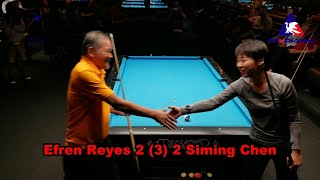 Download Efren Reyes vs #1 Female World Champion Siming Chen Exhibition Video