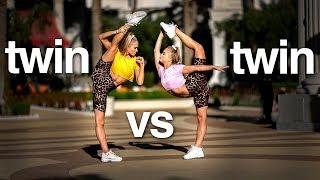 Download Twin vs Twin 10 Minute Acro Challenge in Vegas *Rybka Twins* Video