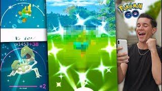 "Download I CAUGHT A NEW SHINY + A New ""BEST"" Pokémon in Pokémon GO! Video"