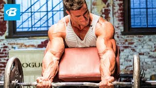 Download Calum Von Moger's Old School Bodybuilding Arms Workout | Armed and Ready Video