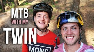 Download CRAZY MTB RIDING WITH MY TWIN!! Video