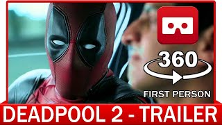 Download 360° VR VIDEO - DEADPOOL 2 | The Trailer (2018) - VIRTUAL REALITY 3D Video