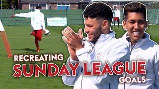 Download Liverpool Players RECREATE Sunday League Goal! | Oxlade-Chamberlain, Firmino & Woodburn 🔥 Video