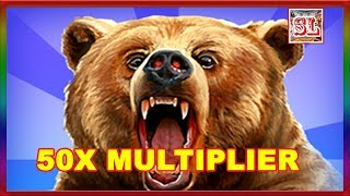 Download ** 50 TIMES MULTIPLIER ON GRIZZLY AT MAX BET ** SLOT LOVER ** Video
