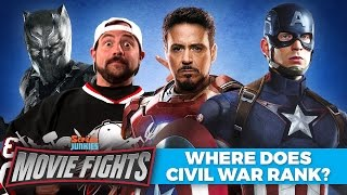Download Where Does Civil War Rank in the MCU? (w/ Kevin Smith!) - MOVIE FIGHTS!! Video