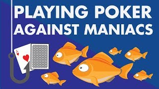 Download Playing Poker Against Maniacs (beginners, bad players, fish) Video