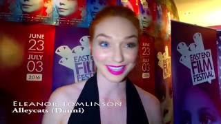 Download Eleanor Tomlinson Interview, Alleycats Film- EastEnd Film Festival 2016 Video