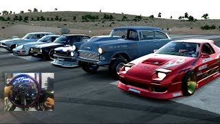 Download Forza Horizon 3 GoPro HOONIGAN Car Pack DRAG RACE ONLINE w/Crew Video