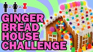 Download GingerBread House ThrowDown - Man Vs Corinne Vs Pin Video