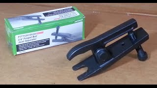 Download How to Remove a Ball Joint Safely - Harbor Freight Ball Joint Separator Tool Review Video