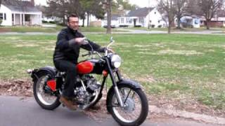 Download Enfield Bullet based 700 cc V twin start and ride off Video