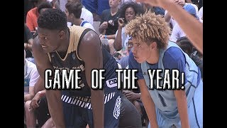 Download Zion Williamson VS LaMelo Ball!!! LIVEST Game Of The Year Full Highlights! Video