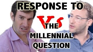 Download Response to Simon Sinek on the Millennial Question Video