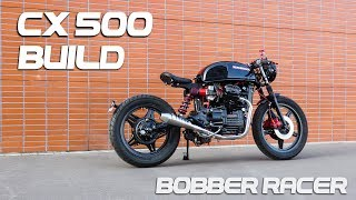Download Cafe Racer Timelapse Build - Honda CX 500 Bobber Racer Video