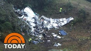 Download Pro Soccer Team's Jet Crashes In Colombia; 76 Killed, At Least 5 Survive | TODAY Video