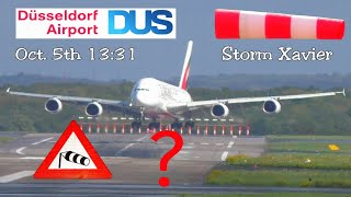 Download Unbelievable A380 storm crosswind landing - Excellent job or dubious landing? Video
