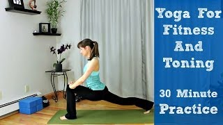 Download Yoga for Fitness and Toning - 30 Minute Practice Video