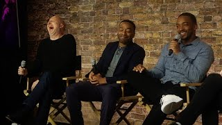 Download Triple 9 Cast Interview with Chiwetel Ejiofor, Anthony Mackie and John Hillcoat Video