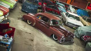 Download For Sale Bagged, Air Ride 52 Chevy Coupe, Patina Rat Rod, Video