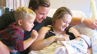 Download WELCOME FINLEY JAY! (birth vlog) Video
