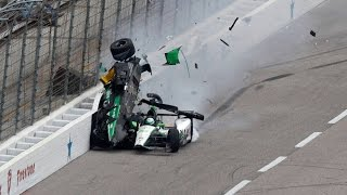 Download Top 10 IndyCar Crashes of 2016 Video