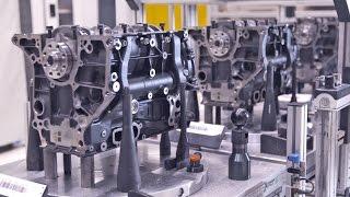 Download AUDI 4-Cylinder ENGINE Production Video