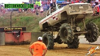 Download MEGA TRUCK SLED PULLING | Cornfield 500 Video