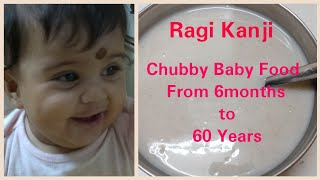 Download Ragi Kanji in Tamil |Weight Gaining Food Recipe for Babies|Chubby Baby Video