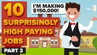 Download 10 Surprisingly High Paying Jobs - Part 2 Video